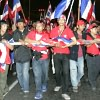 Thai Red Shirt Protesters